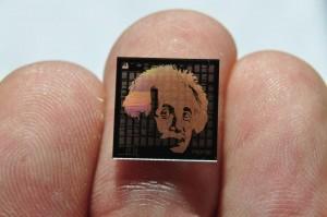 Einstein auf einem Chip